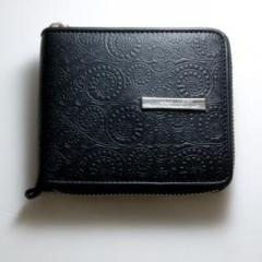 GARNI / ガルニ '10 Vine Pattern Zip Fold Wallet
