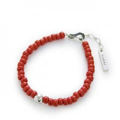 GARNI / ガルニ 8 Color Bracelet (RED)