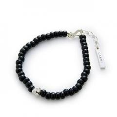 GARNI / ガルニ 8 Color Bracelet (BLACK)